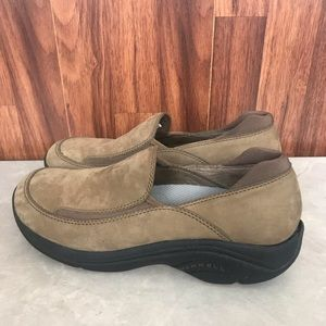 MERRELL Treviso Moc Stone Suede Loafer